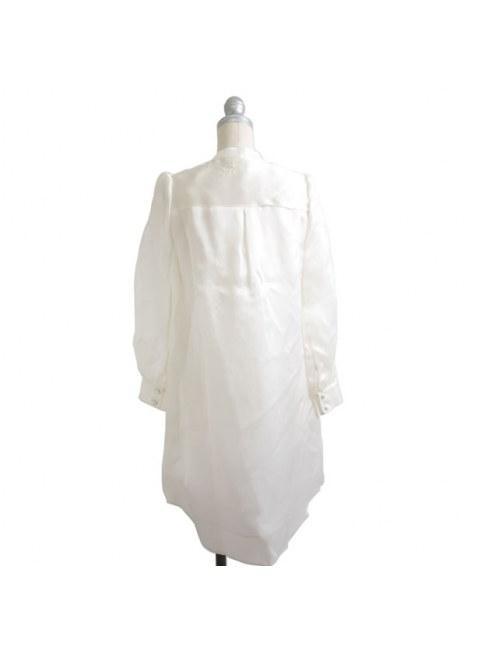 Unlogical Poem / 古典詩の刺繍 シルクドレス