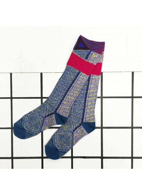 「nonnette」Original Socks (Steel blue)