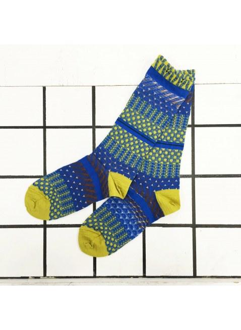 「nonnette」Original Socks (blue)