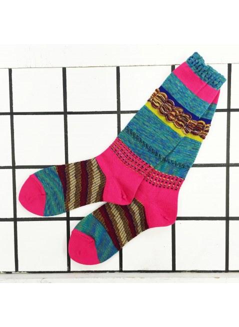 「nonnette」Original Socks (emerald blue)