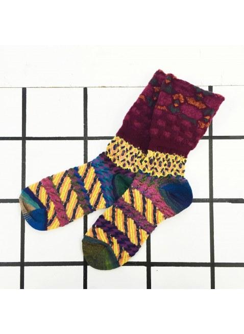 「nonnette」Original Socks (Yellow Mix)