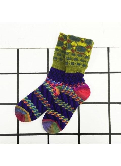 「nonnette」Original Socks (amethyst MIX)