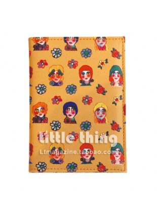 little thingXMIA Portrait of Girls / Girl Print case (yellow)