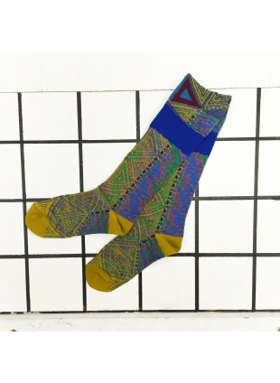 「nonnette」Original Socks (d.lime)