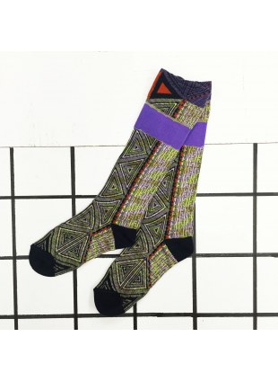 「nonnette」Original Socks (bk.green)