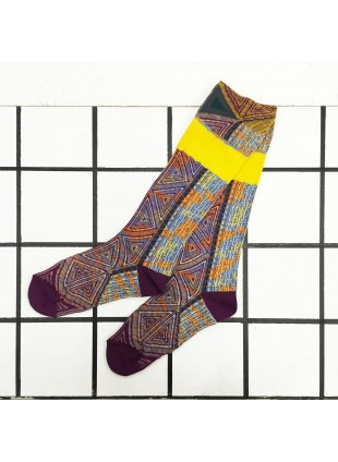 「nonnette」Original Socks (plum)