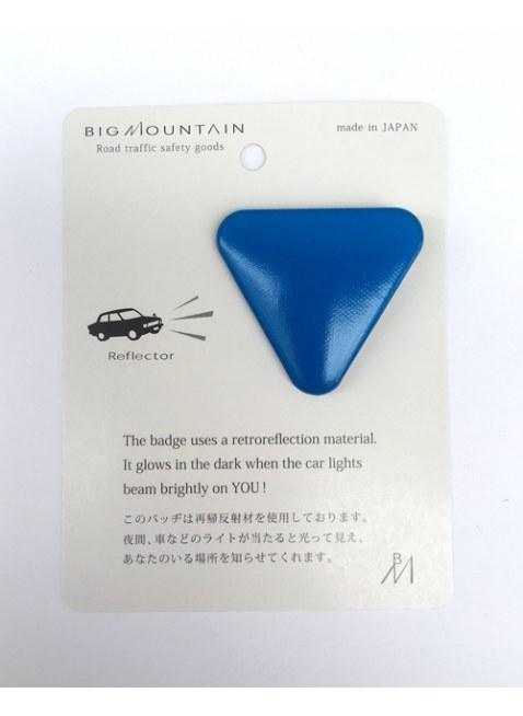 BIGMOUNTAIN Reflector Badge -▽-
