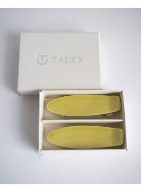 TALKY -skateboard chopstick rest- YELLOW