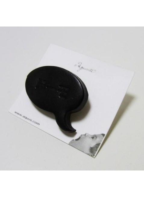 Speech balloon Pierce(black)