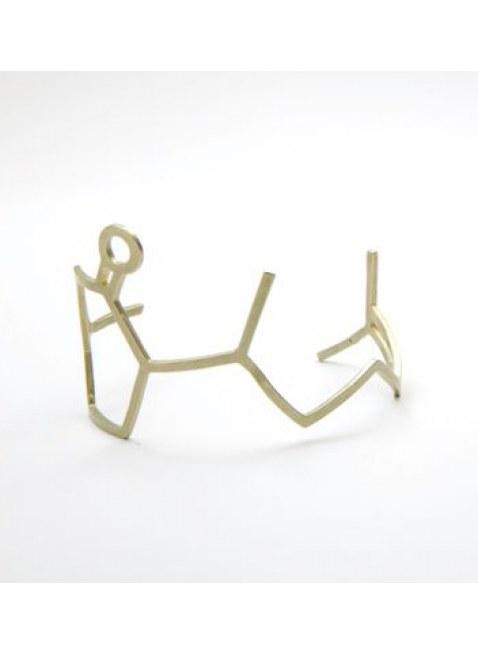 化学屋 Hernandulcin Bracelet  GOLD