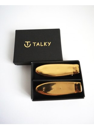 TALKY -skateboard chopstick rest- GOLD