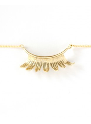 Eyelash Necklace