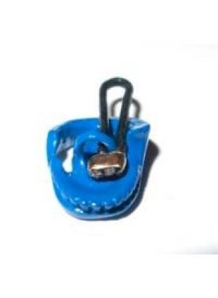 Skull Parts Necklace(Blu下)