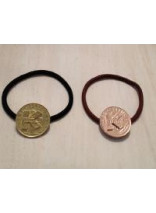 initial coin Hair Ring (K)