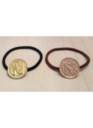 initial coin Hair Ring (N)
