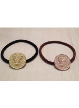initial coin Hair Ring (Y)