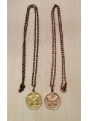 Initial Coin Necklace(H)