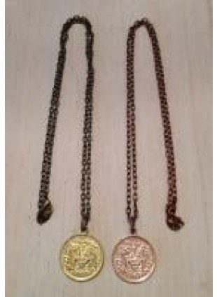 Initial Coin Necklace(M)