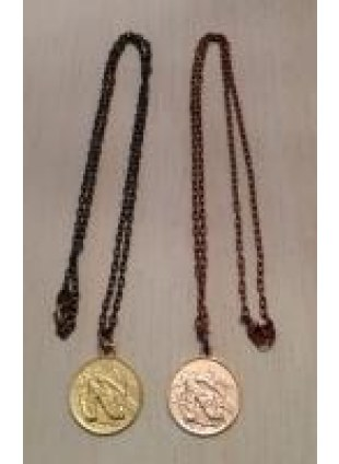 Initial Coin Necklace(N)