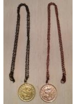 Initial Coin Necklace(S)
