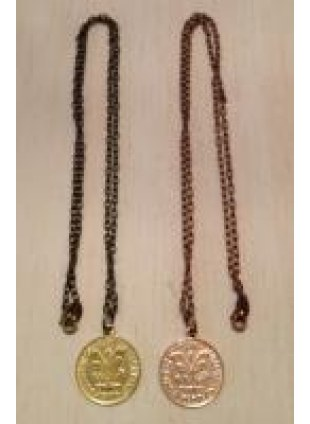 initial coin Necklace(Y)