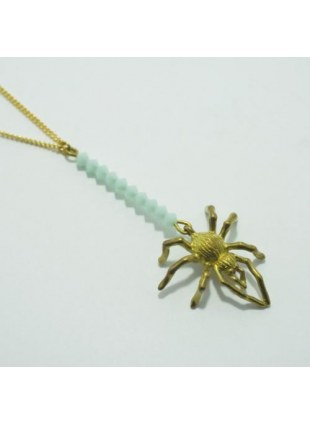 Spider Web Necklace (Sax)