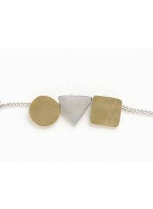 Shapes Necklace(SILVER)