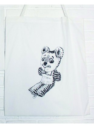 【Lsize】AAT POSTER TOTE_BUTSU-SAN