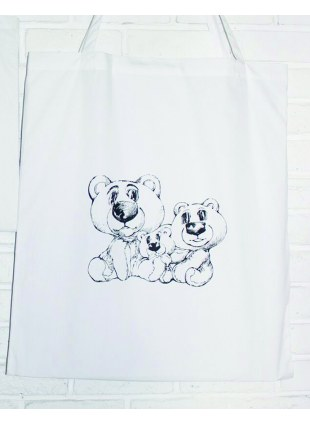 【Lsize】AAT POSTER TOTE_BearBearBear