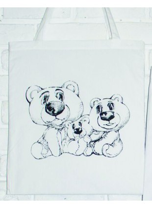 【Msize】AAT POSTER TOTE_BearBearBear