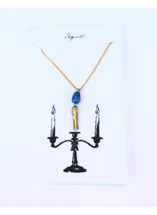 Candle Necklace_Blue