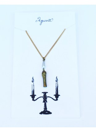 Candle Necklace_Pearl