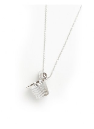 Coffee Fresh Necklace (SILVER)