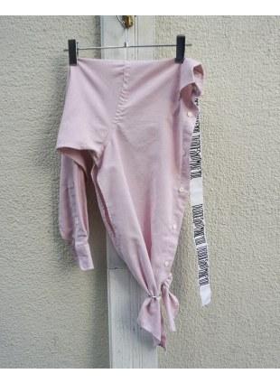 OneSideShirts -Pink-