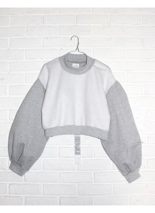 ReMake sweat Type-A GRAY