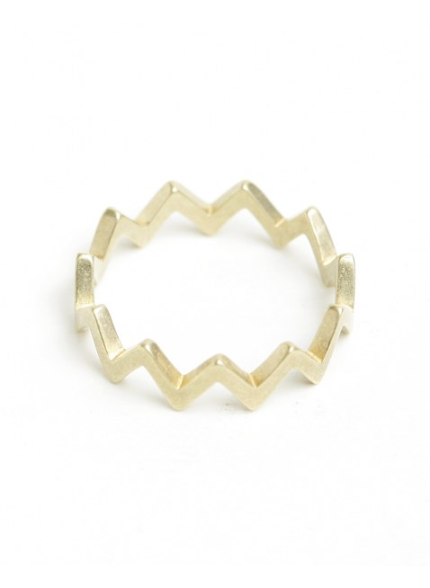 zigzag ring(GOLD)