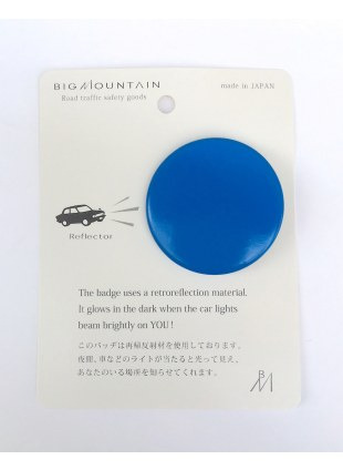 BIGMOUNTAIN Reflector Badge -◯-