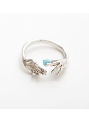 Throw Into The Sea Ring (SILVER)