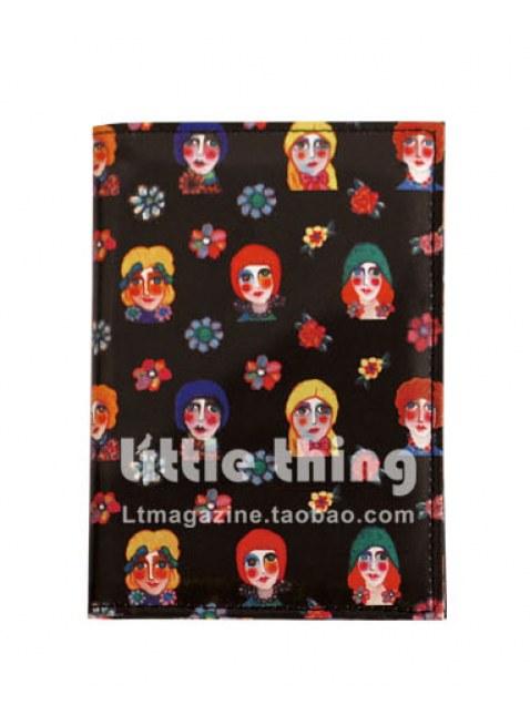 little thingXMIA Portrait of Girls / Girl Print case (black)