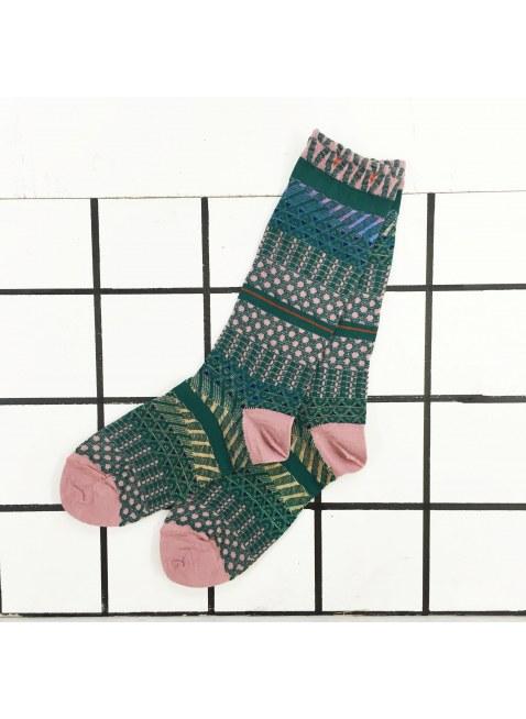 「nonnette」Original Socks (green)