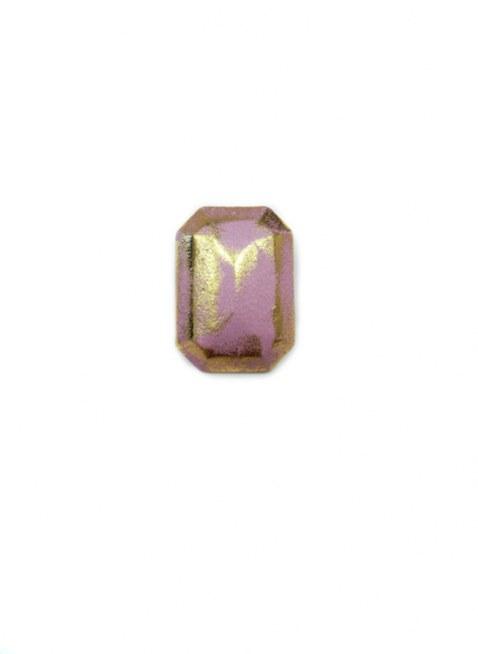 Leather Cover Pierce Gold Purple