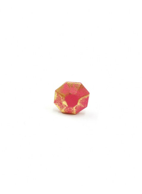 OMNES Leather Cover Pierce(M) PINK
