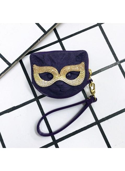 3D Bag (Violet Cat)