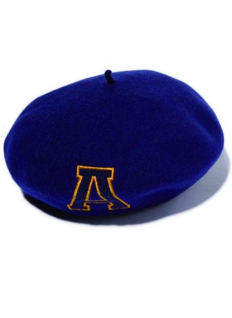Arikiri  LOGO  beret  Hat---navy