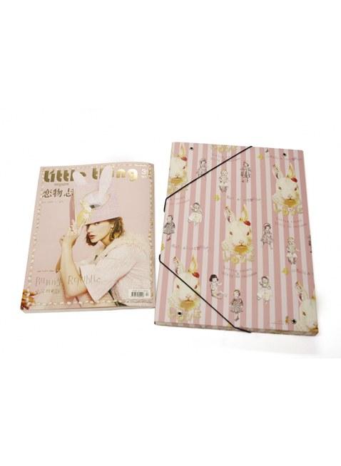 "Little Thing Magazine No.39  ""Bunny Republic"" × Bunny Bag"