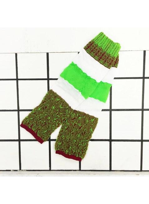 「nonnette」Original Leg cover (lime green)