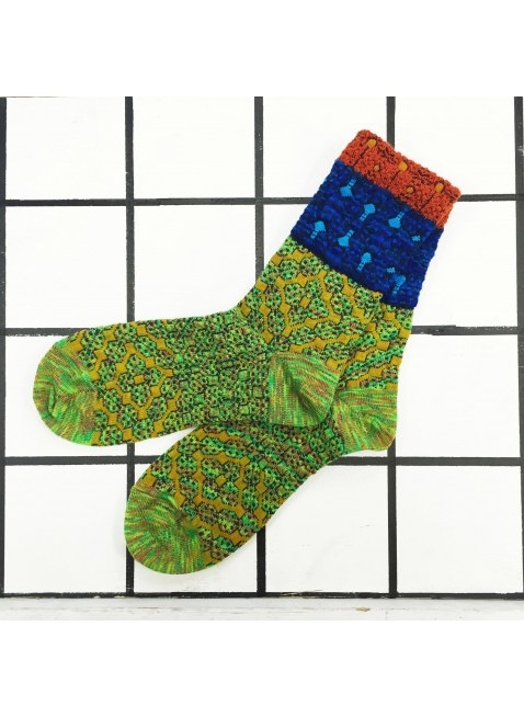「nonnette」Original Socks (lime green)