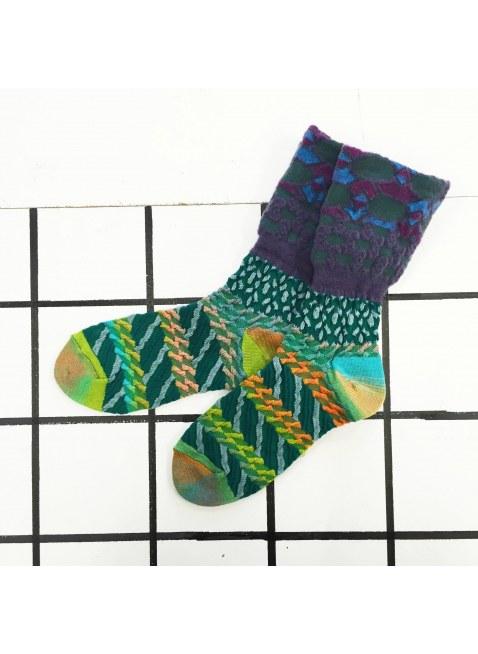 「nonnette」Original Socks (green MIX)