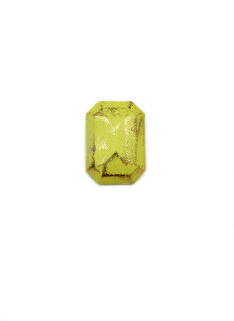 Leather Cover Pierce Yellow