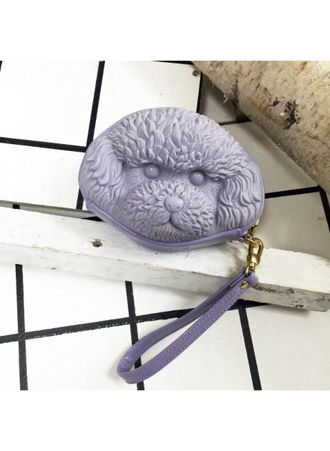 3D Bag (Purple Poodle)